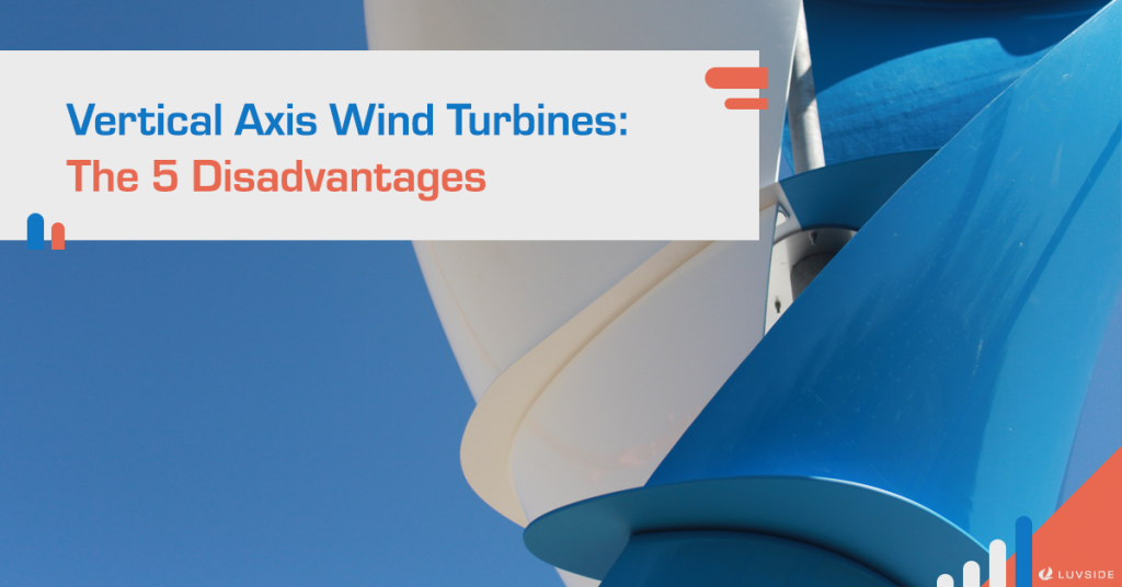 In picture: A closeup of our LS Helix 3.0 Savonius vertical axis wind turbine.