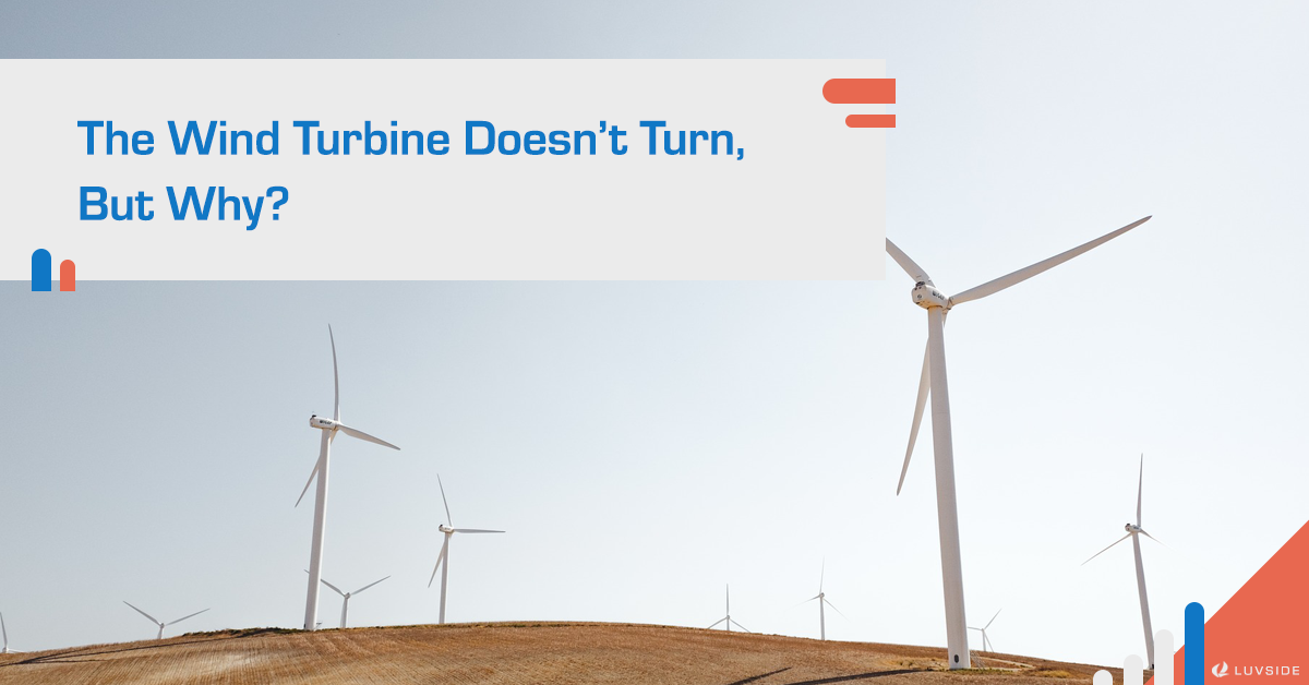 Why is the wind turbine not turning?